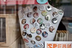 308/365 (local paparazzi (isthmusportrait.com)) Tags: detail classic window closeup trek canon shopping eos 50mm prime interesting pod aperture support election raw pin display iso400 buttons unique f14 politics perspective creative voice pins retro harley sharp walker button opaque government unions local usm madisonwi vote republican elections democrat ef f4 windowshopping democratic voting speak throwback haters 2014 judgementday outspoken presidentialcandidate canonraw cr2 isthmus rockthevote maryburke 50mmf14usm 365project remembertovote danecountywisconsin photoshopelements7 canon5dmarkii pse7 governorrace localpaparazzi redskyrocketman lopaps recallscottwalker haveavoice isthmusportrait electionday2014