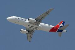 7O-AFA Yemenia - Yeman Airways A320-233 Dubai 13/06/2014 (Tu154Dave) Tags: dubai airbus yemen a320 dxb yemenia a320233 7oafa