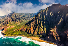 Na Pali Coast (About Light Images Photography) Tags: ocean mountains ariel hawaii landscapes seascapes helicopter waterfalls kauai waimeacanyon napalicoast oceanphotography