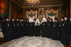 154. Св.Патриарх Алексий с архиереями Украины 2007 г