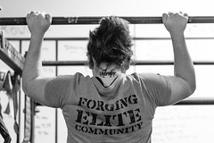 Unbroken (bflinch1) Tags: blackandwhite bar 50mm healthy nikon exercise strong hardwork pullup unbroken nikond3200 crossfit strongwilled