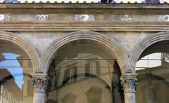 Alberti(?), Loggia Rucellai arches