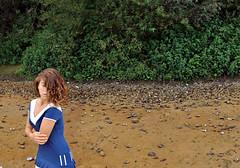 Stranded (melhian) Tags: art girl coast riverside fine bank beached marge conceptual stranded margin melhian carnellevare