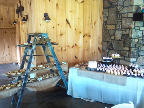 """An assortment of mini pies and cupcakes for this wedding. • <a style=""""font-size:0.8em;"""" href=""""http://www.flickr.com/photos/50891271@N03/15725684944/"""" target=""""_blank"""">View on Flickr</a>"""