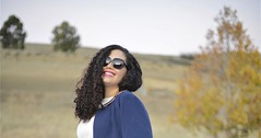 Fall Floral (GirlWithCurves) Tags: curvy curlyhair plussizefashion girlwithcurves taneshaawasthi