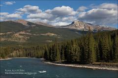 Signal Mountain, Jasper National Park (Anna & Oskar) Tags: travel viaje lake canada water canon landscape lago agua jasper paisaje can alberta jaspernationalpark canadianrockies signalmountain 1dx montaasrocosas 5dmarkii
