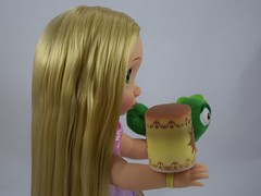 Rapunzel Animators' Doll Gift Set - US Disney Store Purchase - Deboxed - Rapunzel - Standing - Midrange Left Side View (drj1828) Tags: standing us pascal rapunzel purchase disneystore 2014 animators dollset deboxed disneyanimatorscollection