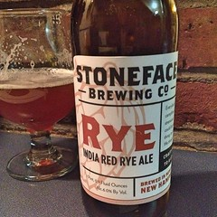 "Local beer on a Saturday night from @stonefacebrewing . This one is delicious!  #craftbeer #beer #local • <a style=""font-size:0.8em;"" href=""https://www.flickr.com/photos/54958436@N05/15828654696/"" target=""_blank"">View on Flickr</a>"