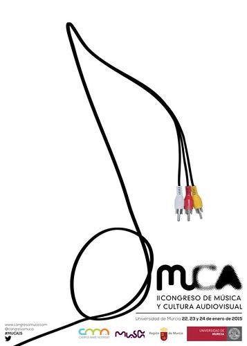Cartel II Congreso de Música y Cultura Audiovisual
