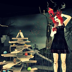 Setting the tree 2 (eloen.maerdrym) Tags: christmas charity xmas grave graveyard night events goth arcade olive free medieval queen ornaments fantasy secondlife gift ama horror crown alegria sales poses preview roleplay fission gor gacha thearcade releases slink gorean horrorstory 8f8 bliensenmaitai exposeur appliers glamaffair gothmasbygaslight ~hopscotch~ orsinired ~songbird~ cubiccherrykreations lostjunction atomicfaery thefantasyroom {rook} glamistry ~alchemist~ simplychaotix horrorfestive horrorfestive2014 livalleformerlwarwick gallaheels
