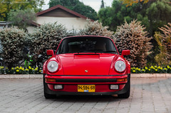 Ferdinand's work. (Liad Ezra Photography) Tags: red classic cars 50mm israel nikon 911 porsche 18 oldcars supercar tlv supercars d5100 israelcars