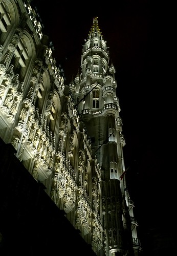 Grand-Place, Brussels by night