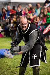 Champion III (Kimmo J) Tags: show summer castle canon fight belgium medieval sword duel knight joust horst flanders holsbeek canonef70200f4lisusm canon6d