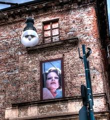 Silvana Mangano (Renato Morselli) Tags: italy muro poster torino sguardo piemonte actor glance silvana attrice mangano 2013