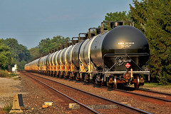 Need a Rear Buffer Car (craigsanders429) Tags: trains railroadtracks norfolksouthern tankcars vermilionohio norfolksoutherntrains nschicagoline tankertrains crudeoiltrains