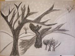 School Gems from Bruell Kids (danbruell) Tags: trees tree art charlotte michigan annarbor monica homework middleschool garnet teshima clague bruell northsideelementary