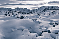 the best light for snow (gregor H [PRO EX]) Tags: winter sunset sky snow austria frost tint hoar vorarlberg sonnenkopf
