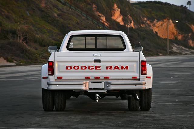 sunset beach truck diesel 1st first automotive dodge ram gen generation cummins dually d350 1stgen firstgen