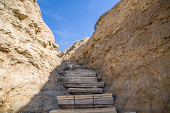 Black's Beach Steps (Tony Webster) Tags: california stairs unitedstates sandiego lajolla cliffs southerncalifornia blacksbeach ccbync20150103