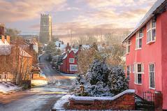 Kersey, Suffolk (Meleah Reardon) Tags: winter sunset england suffolk village united kingdom charming quaint kersey