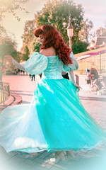 She's out there somewhere | Into the Magic (chris.alcoran) Tags: world lighting sea color ariel colors girl canon project photography eos kiss princess little disneyland magic under disney part your twirl coloring mermaid twirling fantasyland 6d intothemagic
