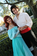 Ariel and Eric (MediumHero6) Tags: world ariel face epcot eric mine little florida character parks prince disney mermaid wdw waltdisneyworld walt disneyparks facecharacter