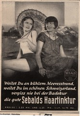 adv Seebald  haartinktur  a  1929 (janwillemsen) Tags: artdeco 1929 oldadvertising berlinerillustrirtezeitung