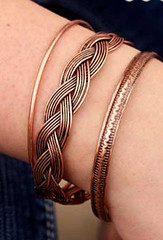 5th Avenue Copper Bracelet K1 P9820-5
