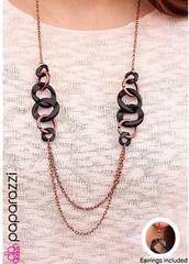 5th Avenue Copper Necklace K1 P2445-1