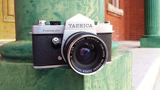 Pentamatic c1960... Yashica's First 35mm SLR