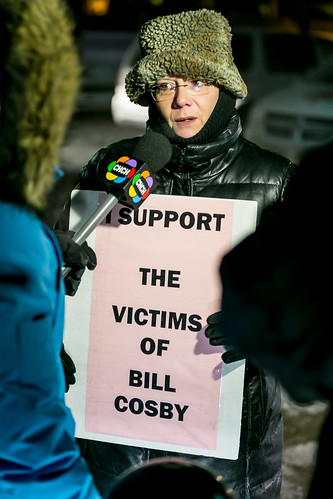 Bill Cosby Protest in Kitchener, Ontario