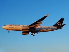 B-6091 Airbus A330-200 of Air China (SteveDHall) Tags: sunset london airport heathrow aircraft airbus a330 airliner heathrowairport airliners londonheathrow airbusa330 airchina a332 airbusa330200 b6091