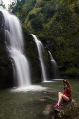 Three Bears Falls - Hazel Edition (Lance Sagar) Tags: usa canon hawaii three waterfall bears maui falls le 7d hi
