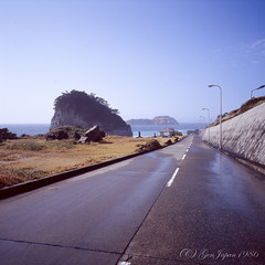 20160319-10 (GenJapan1986) Tags: 2016 fujifilmgf670wprofessional         film  island japan tokyo  sea pacificocean landscape niijima fujifilmprovia400x