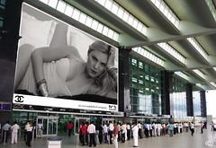 MdB & SdB . Chanel . megadisplays (SUE DE BEER . New York / Amsterdam) Tags: newyork paris london beauty amsterdam fashion kln lingerie dessous fotodesign suedebeer margodebeer modelmodelsfashiondessous