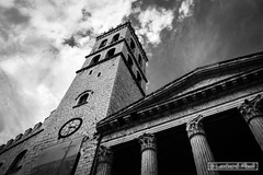 Up! (pierx83) Tags: bw torre chiesa assisi