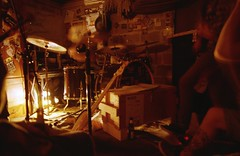 Ghosts (Eric Lfgen) Tags: light canon drums warm rehearsal bass ae1 room low warmth skate prgram musich