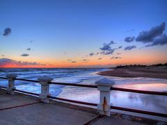 Playa onda. (Ariel NZ) Tags: uruguay atardecer playa cielo calma piriapolis reflejos
