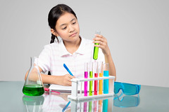 Science (Patrick Foto ;)) Tags: school people test cute glass girl childhood smiling kids female studio children asian fun happy person grey kid bottle education lab child little background indian tube young experiment science equipment medical pharmacy study research chemistry laboratory learning medicine concept schoolgirl job discovery biology liquid isolated scientist biotechnology chemical chemist scientific occupations