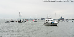 Traffic on the Hudson (DSC05400) (Michael.Lee.Pics.NYC) Tags: newyork hudsonriver statueofliberty races americascup 2016 a7rm2 fe70300mmg