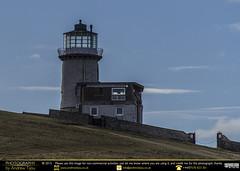 Beachy Head's Old Lighthouse (andrewtijou) Tags: uk england lighthouse storm sussex europe waves unitedkingdom gale cliffs sevensisters beachyhead birlinggap crashingwaves roughseas andrewtijounikond7000