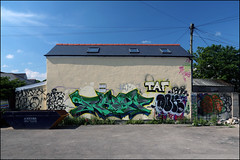 Rasp and more... (Alex Ellison) Tags: uk urban southwales graffiti boobs cardiff graff cityroad