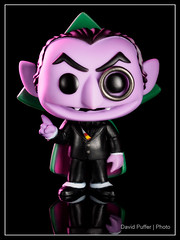 The Count (Puffer Photography) Tags: stilllife television studio toys pop actionfigures sesamestreet minifigs thecount funko 2016 funkofantasy