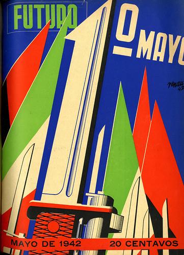 Portada de Josep Renau Berenguer para la Revista Futuro (mayo de 1942)