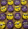 Minion Cupcakes (dragosisters) Tags: yellow cake purple good bad cupcake minions minion