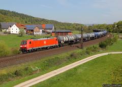 DB Cargo 185 004, Hermannspiegel 06.05.2016 (Trainspotting-Wiki) Tags: bad db cargo bahn fulda 004 kassel deutsche 185 hersfeld hermannspiegel