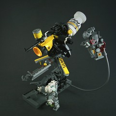 ASD Antigravity Sentry Drone (Marco Marozzi) Tags: lego legomech legodesign legomecha mecha mech maschinen krieger marco marozzi droid dieselpunk drone hardsuit mak
