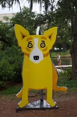 Hallowed are the Corgi (jasonlttl) Tags: nola sculpturegarden