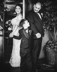@bridalguide featured this photo from two years ago as one of their 40+ Adorable Pics to Take With Your Ring Bearer ☺️ #throwback #photooftheday #bridalguide (AmaByAisha) Tags: 5dm3 canon blackandwhite weddingphotographer marriedwithchildren ringbearer firstlook weddingportraits instagramapp