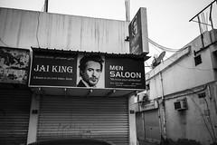 Robert Downey Junior in Muharraq (heshaaam) Tags: street bw bahrain souq muharraq suq